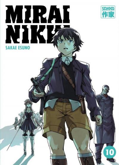 Couverture Mirai Nikki tome 10