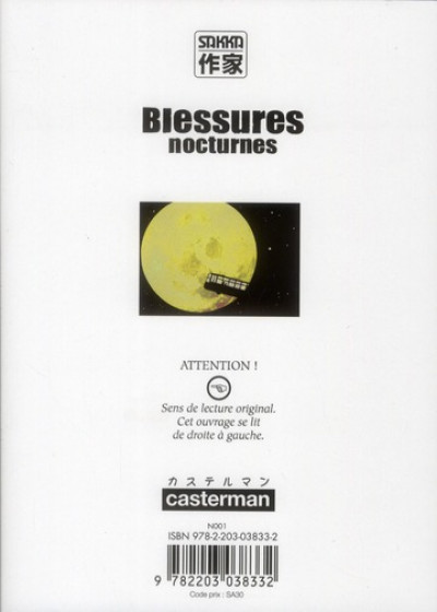 Dos Blessures nocturnes tome 9