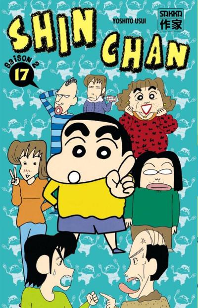 Couverture Shin chan, saison 2 tome 17