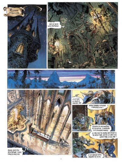 Page 3 Les chevaliers d'émeraude tome 1 - les enfants magiques