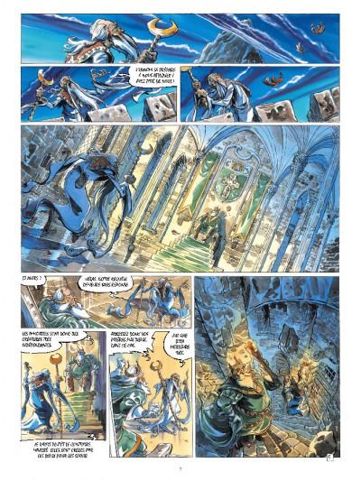 Page 5 Les chevaliers d'émeraude tome 1 - les enfants magiques