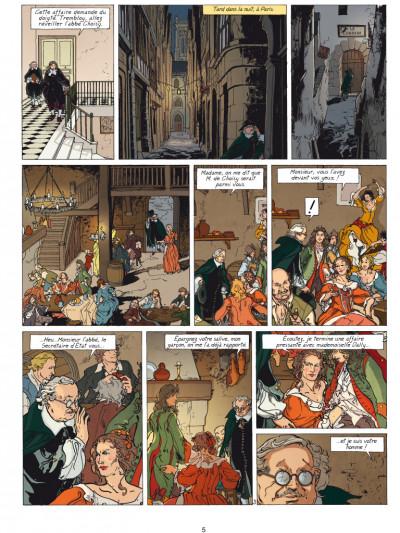 Page 3 Loïs tome 6 - dans les griffes du faucon