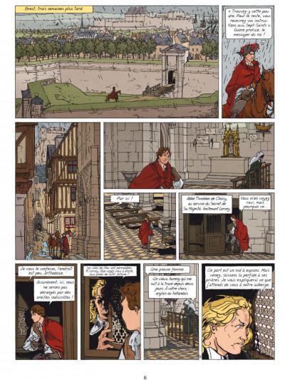 Page 4 Loïs tome 6 - dans les griffes du faucon