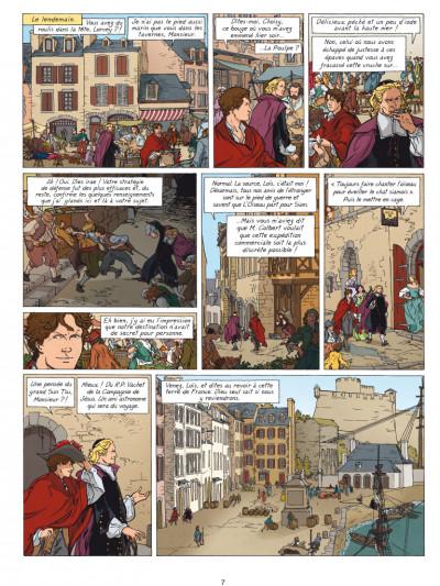 Page 5 Loïs tome 6 - dans les griffes du faucon