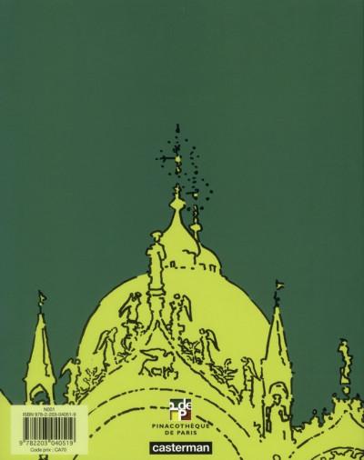 Dos Le voyage imaginaire d'Hugo Pratt