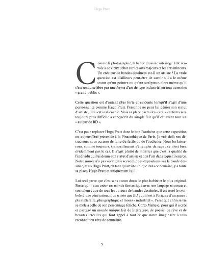 Page 5 Le voyage imaginaire d'Hugo Pratt