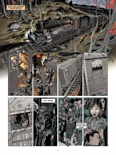 Page 2 L'ombre du convoi tome 1 - le poids du passé