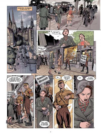 Page 3 L'ombre du convoi tome 1 - le poids du passé