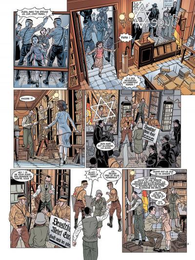 Page 4 L'ombre du convoi tome 1 - le poids du passé