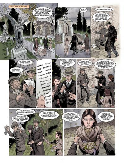 Page 5 L'ombre du convoi tome 1 - le poids du passé