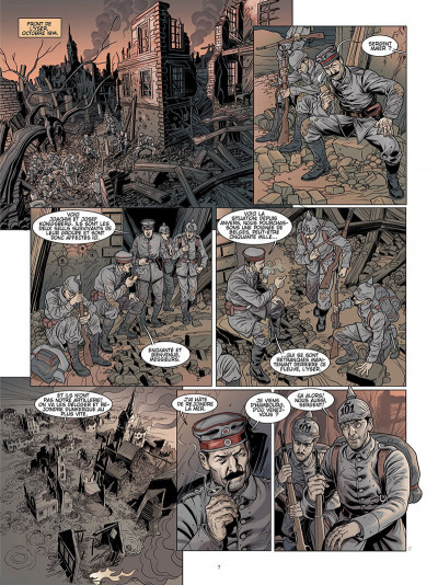Page 6 L'ombre du convoi tome 1 - le poids du passé