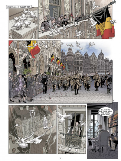 Page 2 L'ombre du convoi tome 2 - l'espoir d'un lendemain