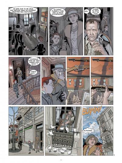 Page 3 L'ombre du convoi tome 2 - l'espoir d'un lendemain