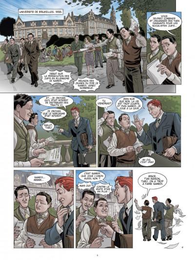 Page 4 L'ombre du convoi tome 2 - l'espoir d'un lendemain