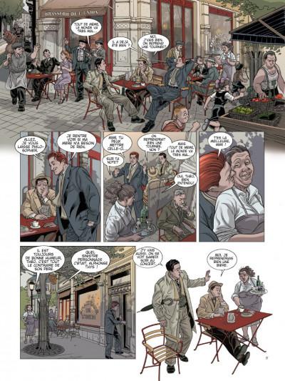 Page 5 L'ombre du convoi tome 2 - l'espoir d'un lendemain