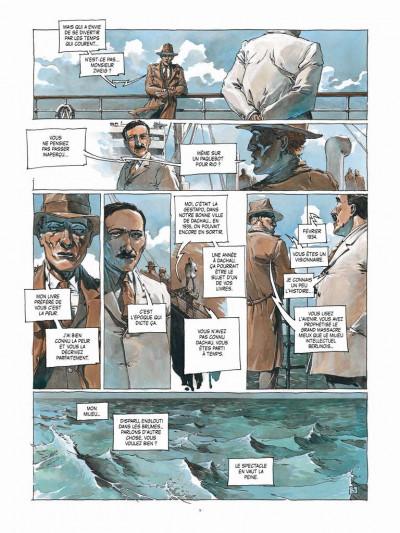 Page 3 Les derniers jours de Stefan Zweig