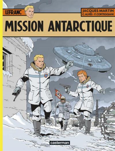 image de Lefranc tome 26 - Mission Antarctique