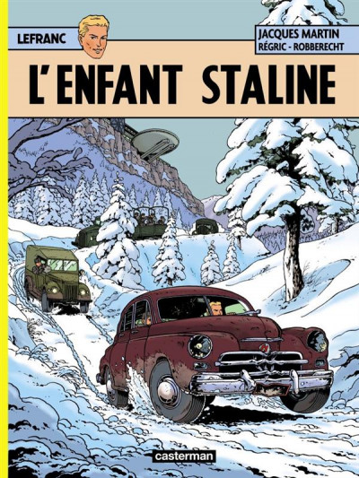 image de Lefranc tome 24 - l'enfant Staline