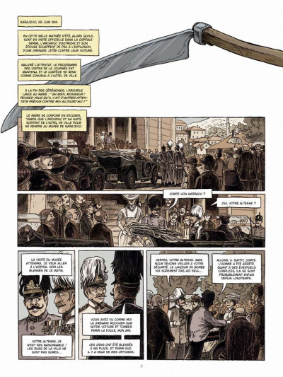 Page 1 Le long hiver tome 1 - 1914