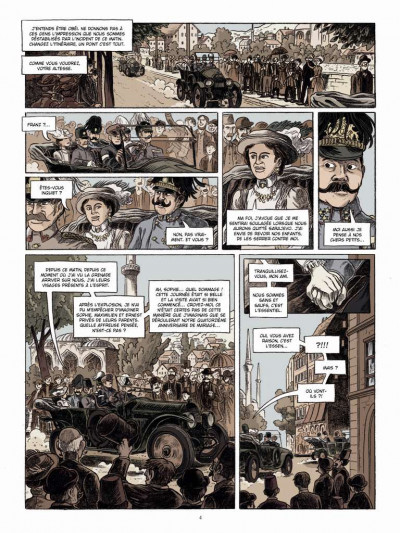 Page 2 Le long hiver tome 1 - 1914