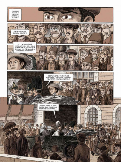 Page 3 Le long hiver tome 1 - 1914