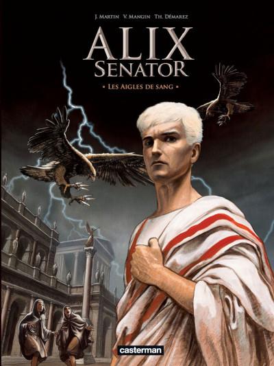 Couverture Alix Senator tome 1