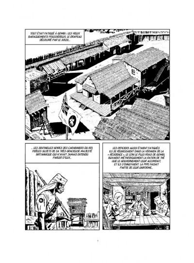 Page 1 Ann de la jungle - intégrale noir et blanc