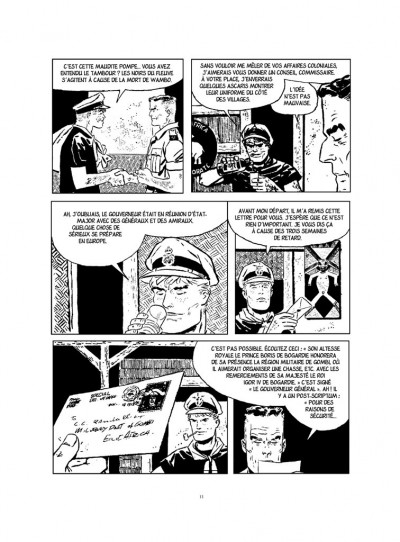 Page 5 Ann de la jungle - intégrale noir et blanc