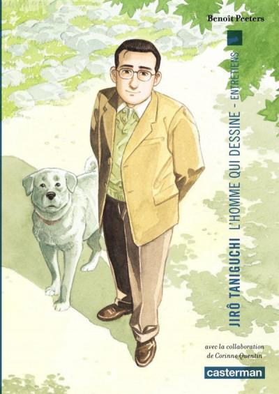 Couverture Jiro Taniguchi l'homme qui dessine - entretiens