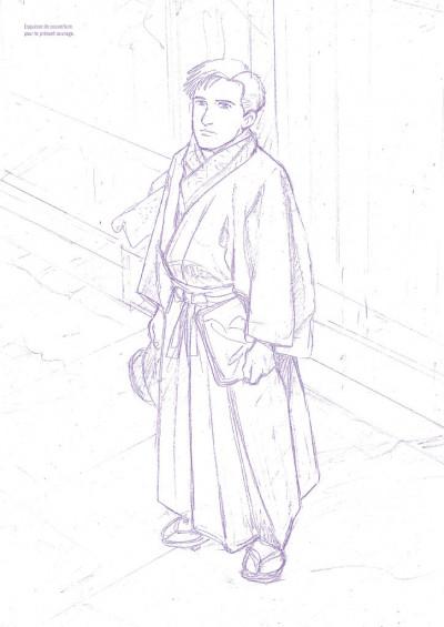 Page 4 Jiro Taniguchi l'homme qui dessine - entretiens