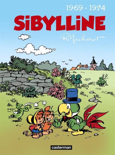 Couverture Sibylline - intégrale tome 2 - 1969-1974