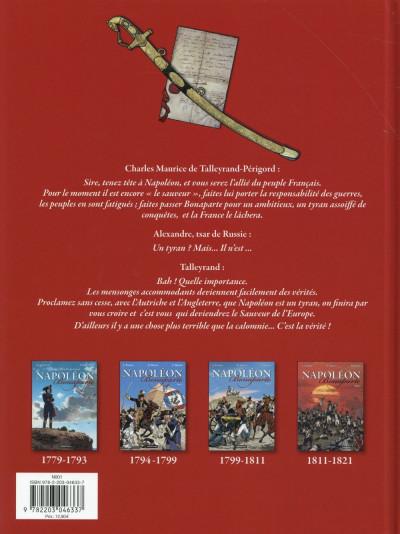 Dos Napoléon Bonaparte tome 4 - Martin