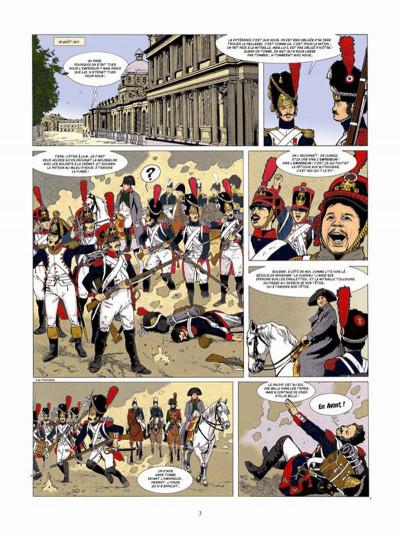 Page 1 Napoléon Bonaparte tome 4 - Martin