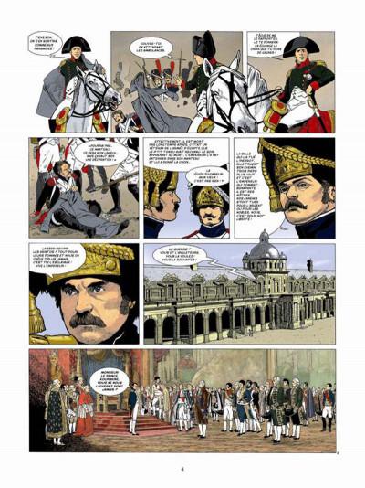 Page 2 Napoléon Bonaparte tome 4 - Martin