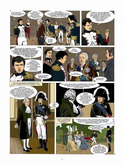 Page 3 Napoléon Bonaparte tome 4 - Martin