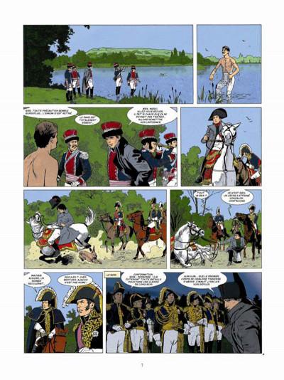 Page 5 Napoléon Bonaparte tome 4 - Martin