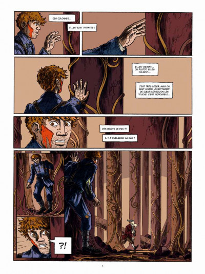 Page 3 Le long hiver tome 2 - 1918