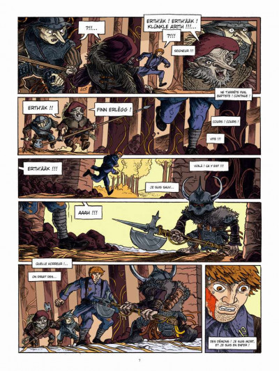 Page 5 Le long hiver tome 2 - 1918