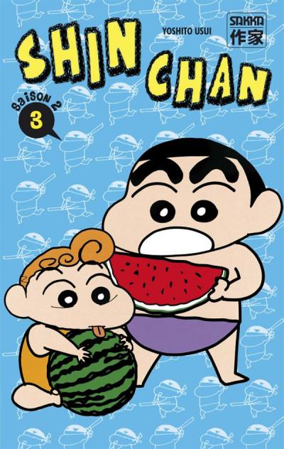Couverture Shin chan, saison 2 tome 18