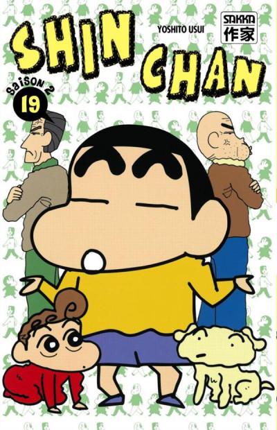 Couverture Shin chan, saison 2 tome 19
