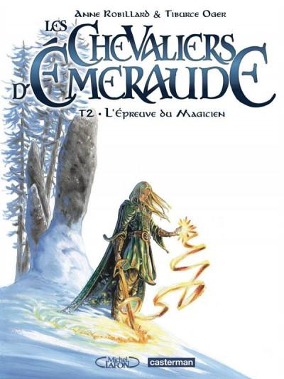 image de Les chevaliers d'emeraude tome 2 - L'Epreuve du magicien