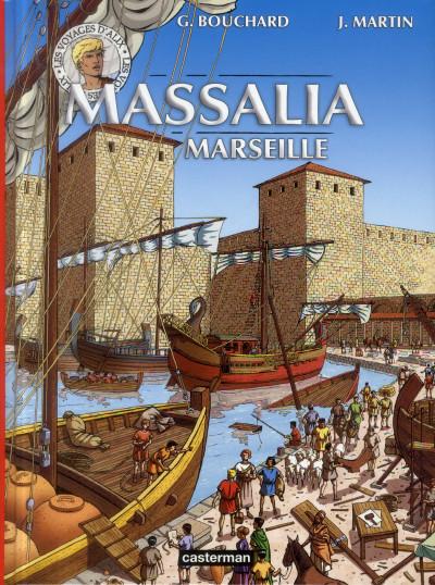 Couverture Les voyages d'alix - massalia, marseille