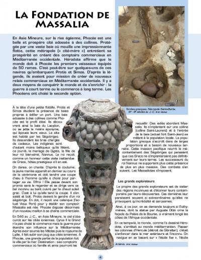 Page 1 Les voyages d'alix - massalia, marseille
