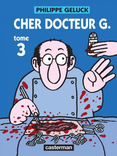 Couverture Le docteur G tome 3 - cher docteur g (ned)