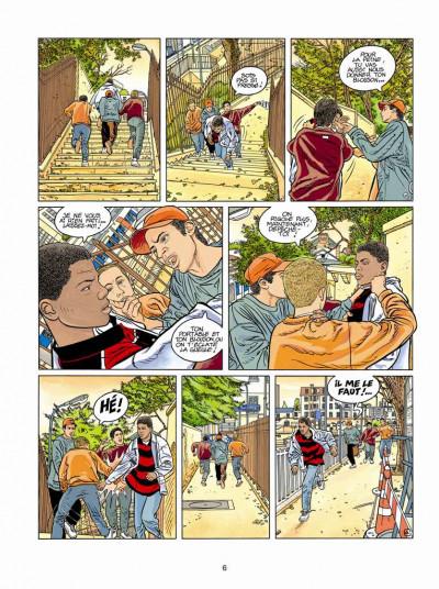 Page 4 Tendre banlieue tome 14 - appel au calme