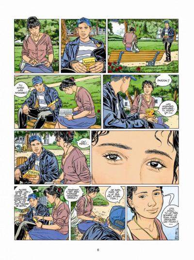 Page 4 Tendre banlieue tome 10 - les yeux de Leïla