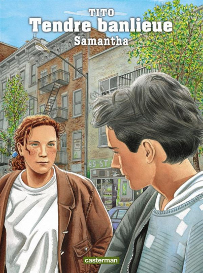 Couverture Tendre banlieue tome 5 - Samantha