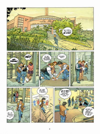 Page 1 Tendre banlieue tome 5 - Samantha