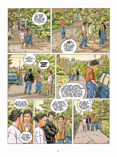 Page 3 Tendre banlieue tome 5 - Samantha