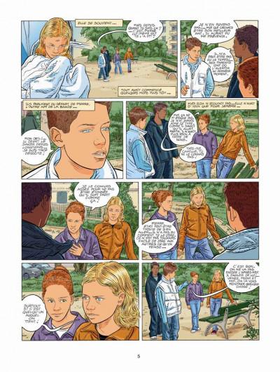 Page 3 Tendre banlieue tome 17 - l'intrus